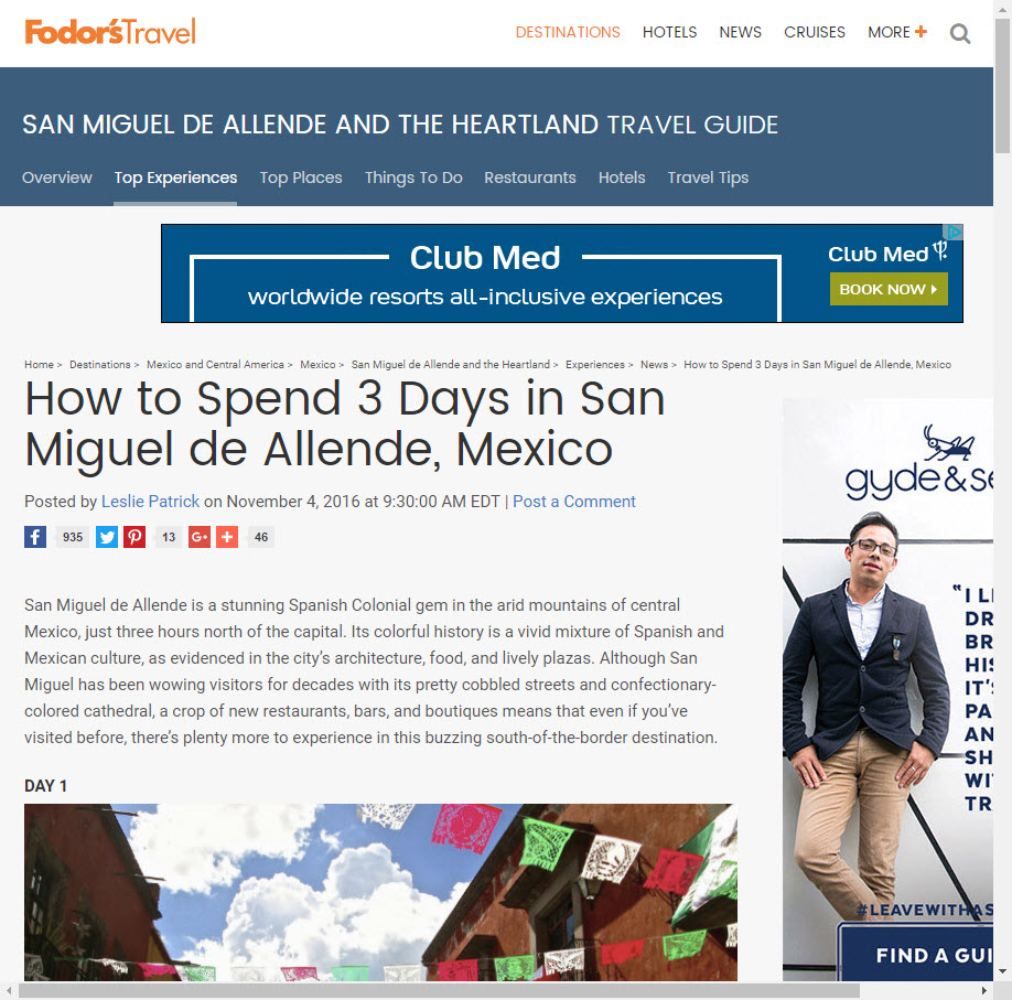How to Spend 3 Days in San Miguel de Allende, Mexico