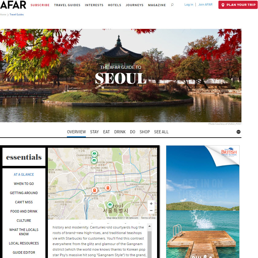 The AFAR Guide to Seoul