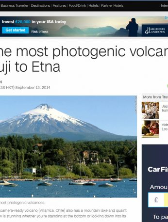 10 of the Most Photogenic Volcanoes – From Fuji to Etna